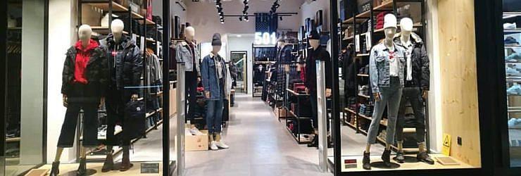 d3a3be4c8d67e Abriu a renovada loja Levi s no Oeiras Parque