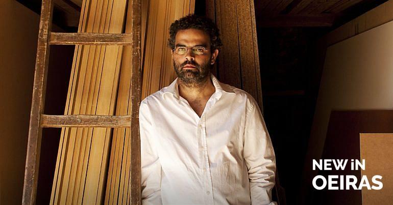 Gonçalo M. Tavares vai ensinar poesia no Parque dos Poetas