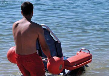 Projeto Praia Acessível já arrancou em Oeiras