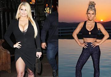 De chacota a sex symbol: como Jessica Simpson perdeu 45 quilos aos 40 anos