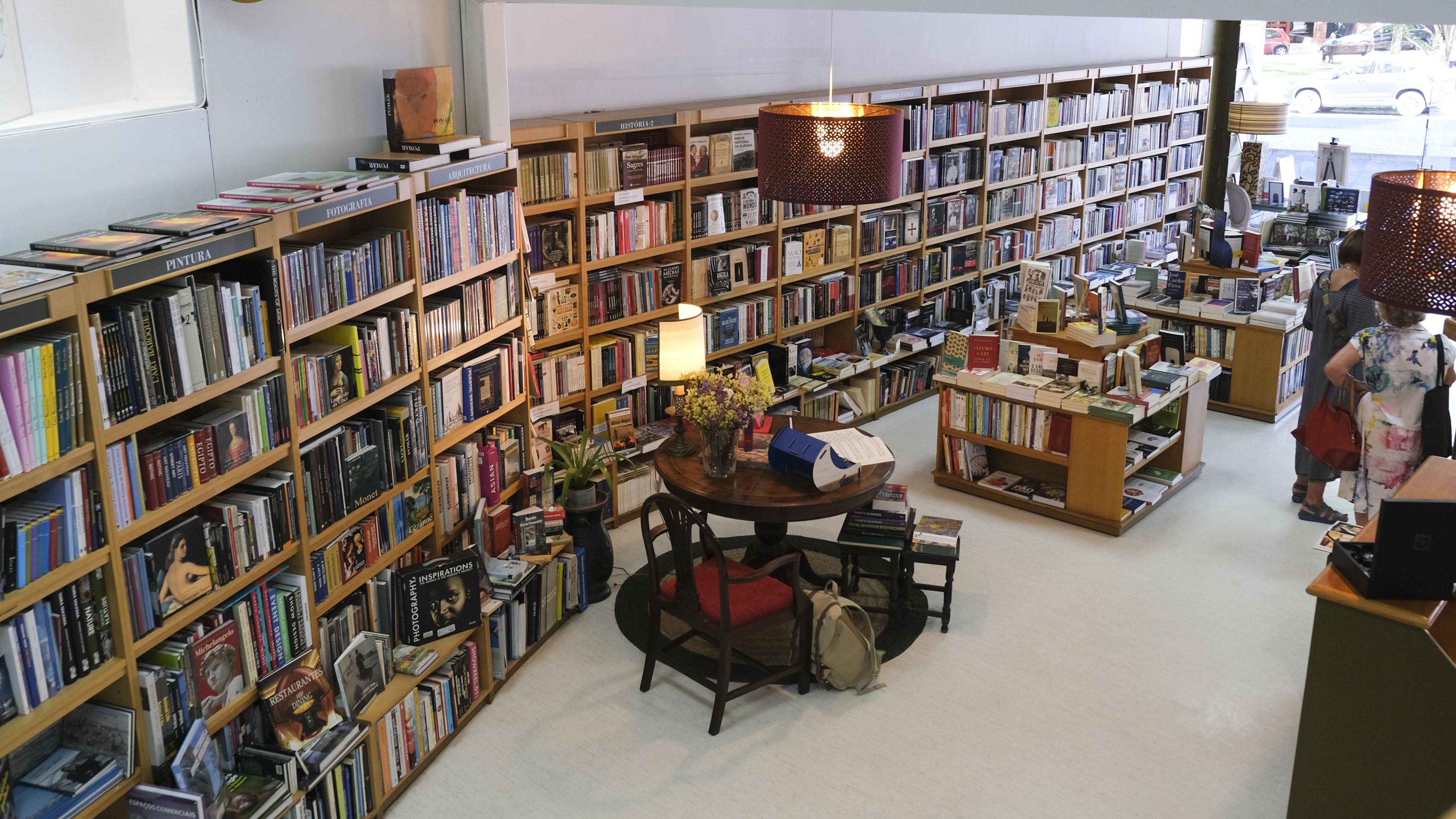 A nova livraria de Lisboa
