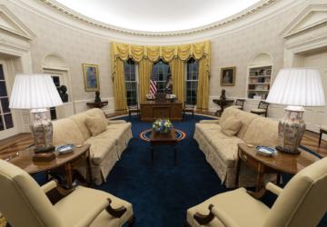 Como a nova decoração da Sala Oval representa uma era de mudança para os EUA