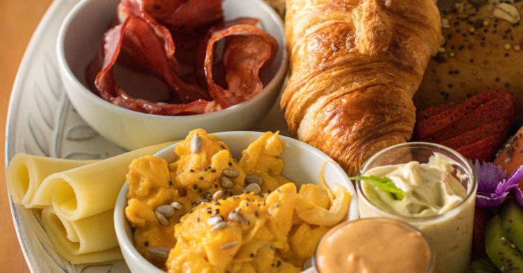 O delicioso menu de pequeno-almoço