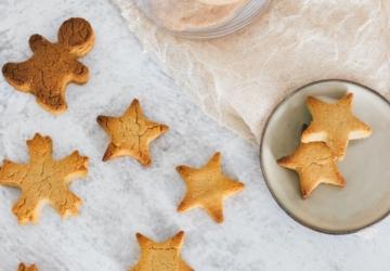 Os biscoitos saudáveis de laranja e canela que ficam prontos em 10 minutos