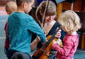 Este domingo há mais um concerto para pais e filhos em Oeiras
