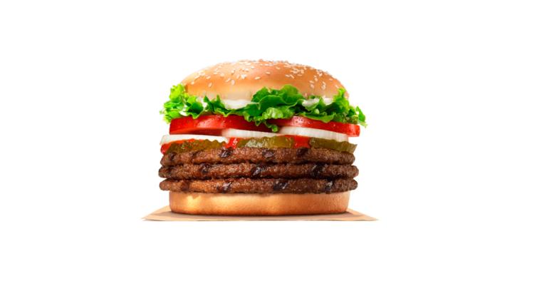 5. Triple Whooper — 1027 kcal